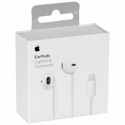 APPLE MMTN2ZM/A Earpods Handsfree Lightning (Retail Box)